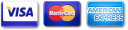 Visa - Master Card - American Express