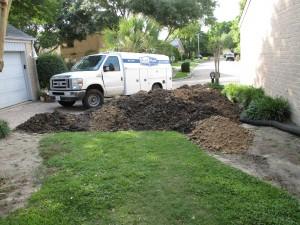 Plumbing Service Truck