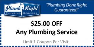 $25 OFF Plumbing