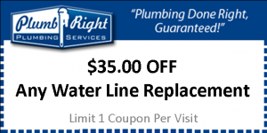 $35 Off Water Line Replacement
